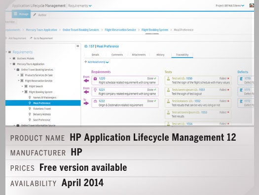 HP Application Lifecycle Management 12