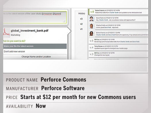Perforce Commons