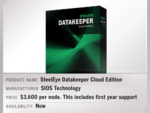 SteelEye DataKeeper Cloud Edition