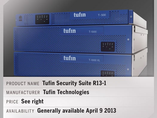 Tufin Security Suite R13-1