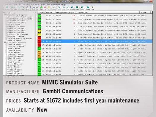 MIMIC Simulator Suite