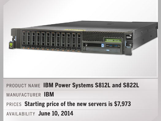 IBM Power Systems S812L and IBM Power Systems S822L
