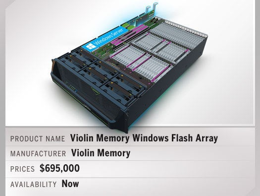 Violin Memory Windows Flash Array