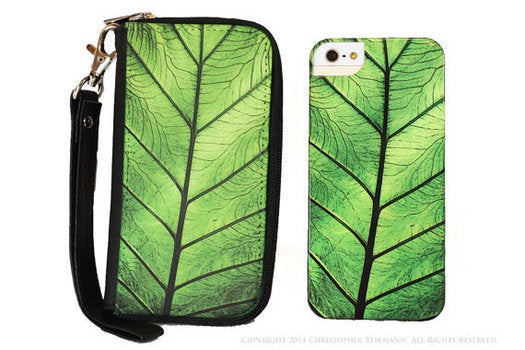 leafy phone case