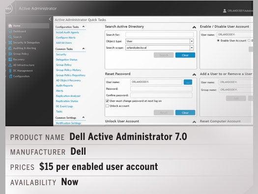Dell Active Administrator 7.0