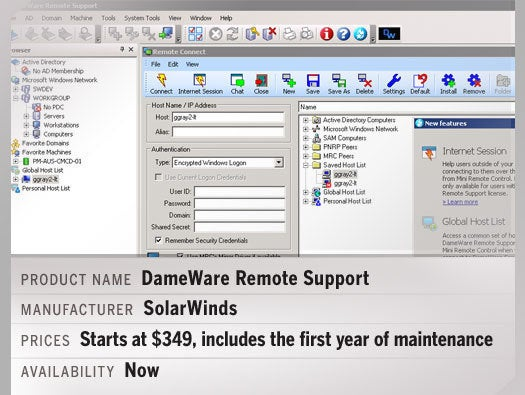 DameWare Remote Support 11.0