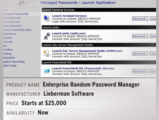 Enterprise Random Password Manager
