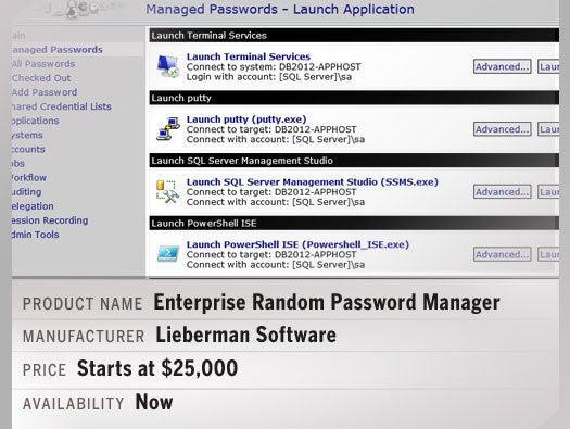 Enterprise Random Password Manager