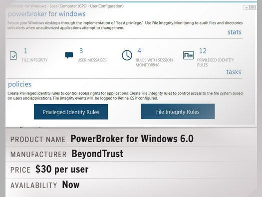 PowerBroker for Windows 6.0