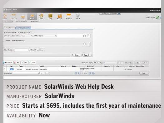 SolarWinds Web Help Desk