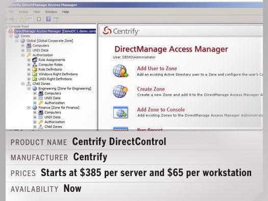 Centrify DirectControl