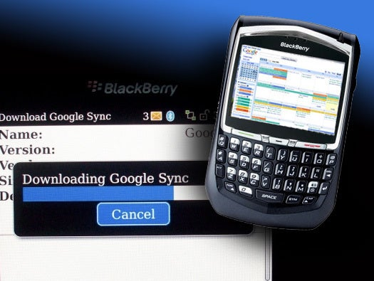Google Sync for BlackBerry