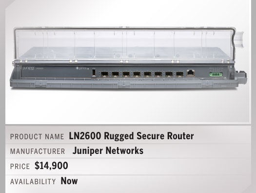 LN2600 Rugged Secure Router