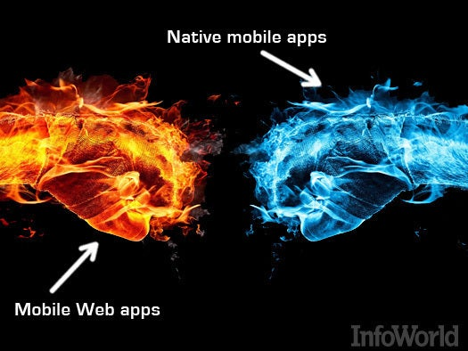Hot: Mobile Web apps | Not: Native mobile apps
