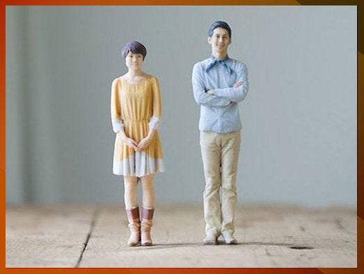 Miniature replicas of yourself