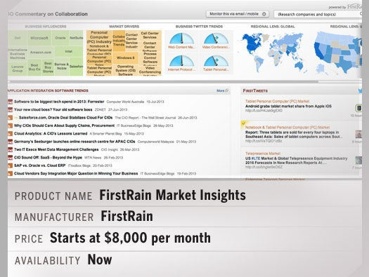 FirstRain Market Insights