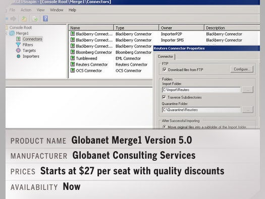 Globanet Merge1 Version 5.0