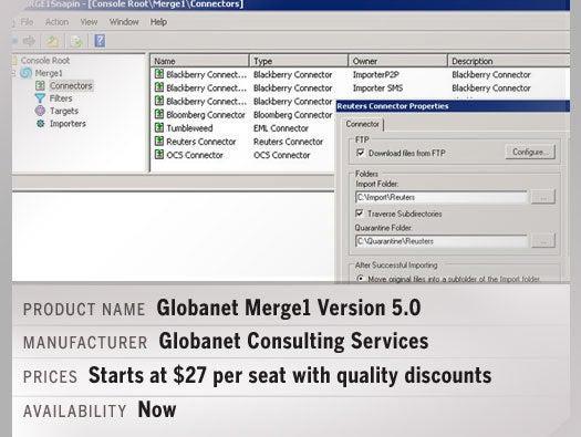 Globanet Merge1 Version 5.0