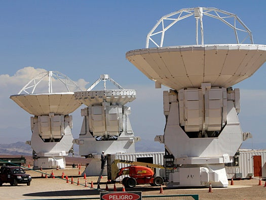 ALMA (Atacama Large Millimeter/Submillimeter Array)
