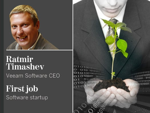 Ratmir Timashev, Veeam Software CEO