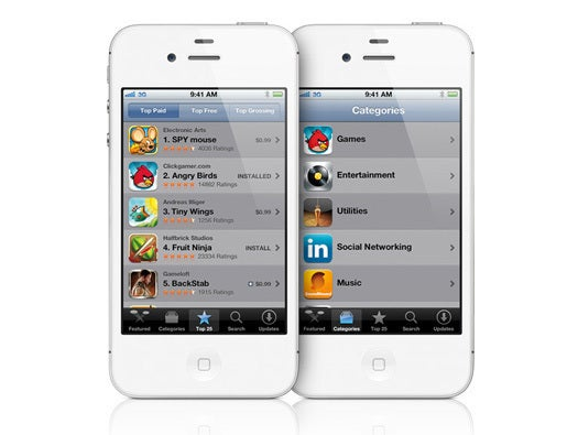 iPhone built-in apps