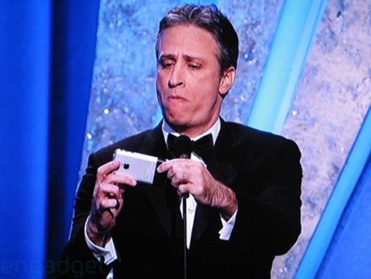 Jon Stewart iPhone