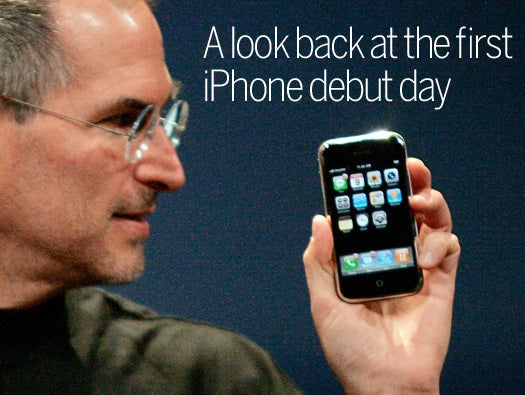 The First IPhone Unveiling