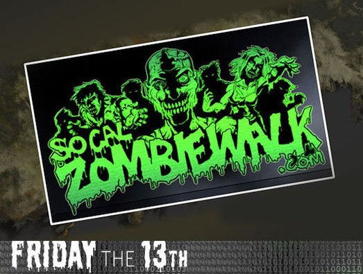 Zombie walks