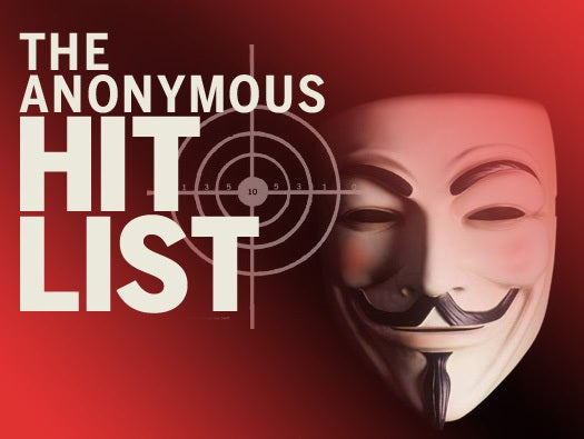 The Anonymous Hit List