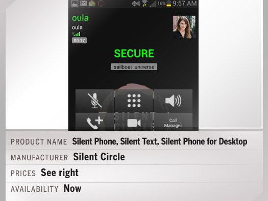 Silent Circle: Silent Phone, Silent Text and Silent Phone for Desktop