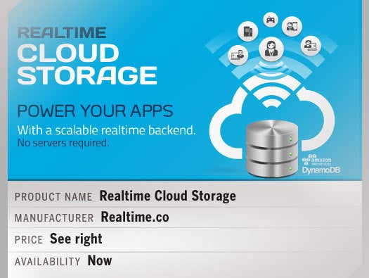 Realtime Cloud Storage