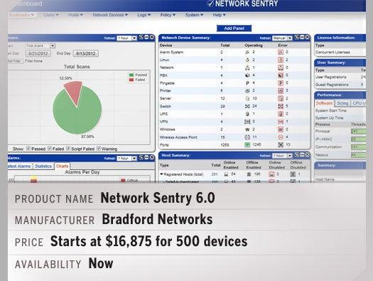 Network Sentry 6.0