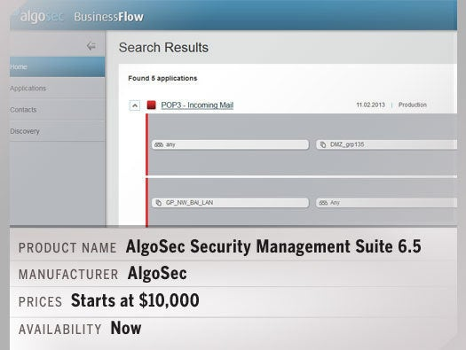 AlgoSec Security Management Suite 6.5