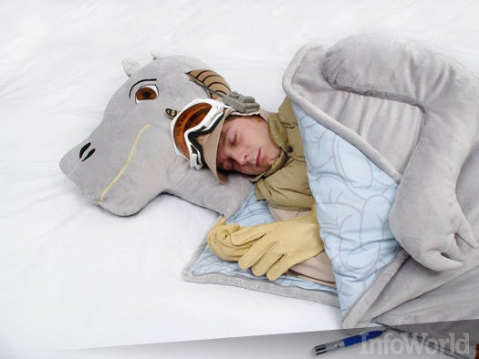 The tauntaun sleeping bag