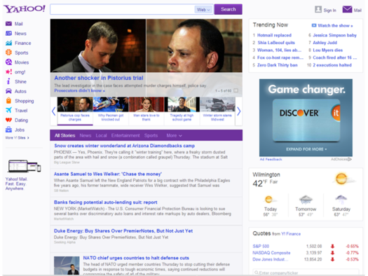 Yahoo Home Page Doesn T Refresh