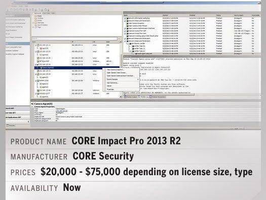 CORE Impact Pro 2013 R2