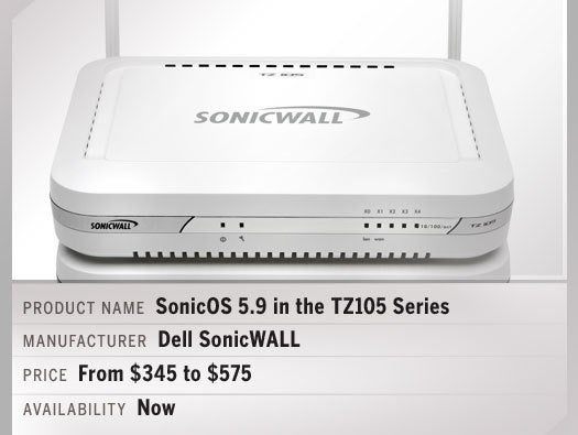 Dell SonicWALL SonicOS 5.9