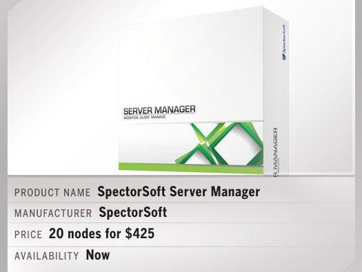 SpectorSoft Server Manager