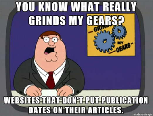 online media, news websites, meme, memes, Geek-Themed Meme of the Week, Grinds My Gears meme