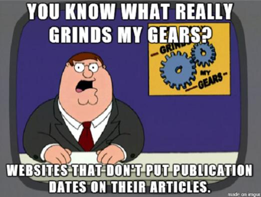online media, news websites, meme, memes, Geek-Themed Meme of the Week, Grinds My Gears meme