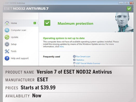 Version 7 of ESET NOD32 Antivirus