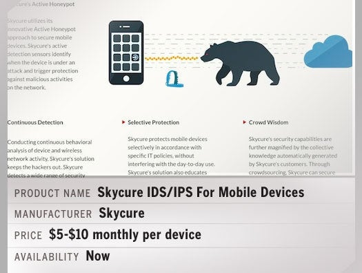 Skycure IDS/IPS For Mobile Devices