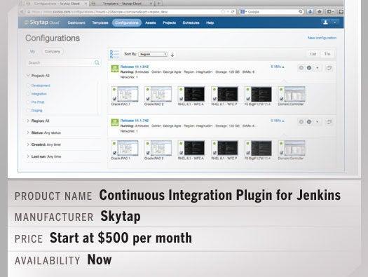 Skytap's CI Plugin for Jenkins