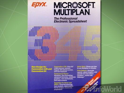 Spreadsheets: Microsoft Mutiplan