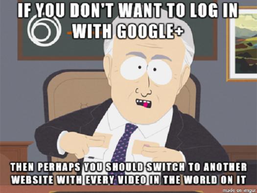 YouTube, Google+, meme, memes, Geek-Themed Meme of the Week