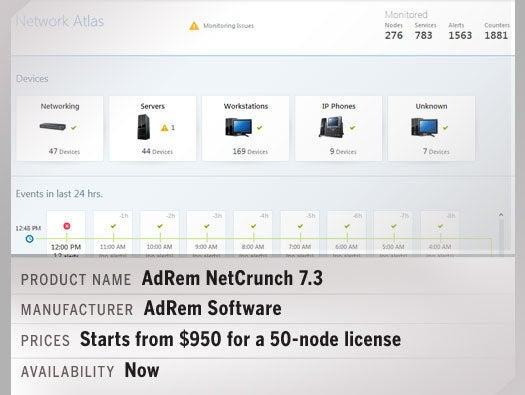 AdRem NetCrunch 7.3