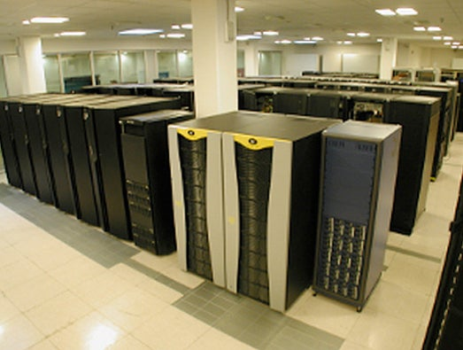 Fermi supercomputer