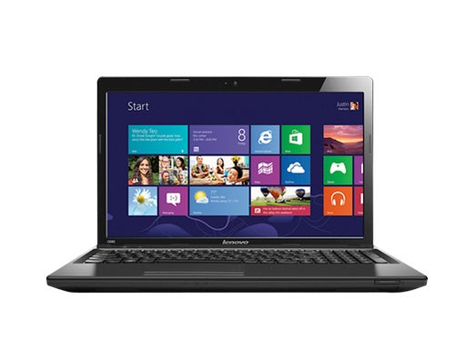 Lenovo 15.6-inch laptop running Windows 8