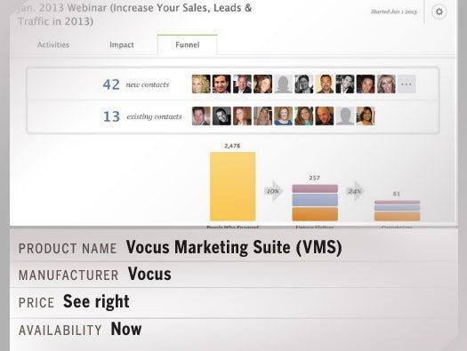 Vocus Marketing Suite (VMS)
