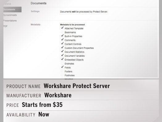 Workshare Protect Server